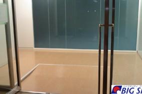 名古屋国際センター テナント改装工事 新設床ワックス