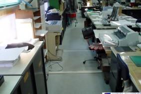 事務所の床洗浄ワックス 一宮市 法人S社様
