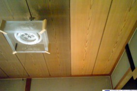 一宮市 S様邸 和室の天井 柱
