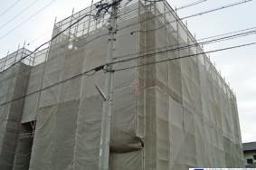 マンション改修工事にともなうクリーニング