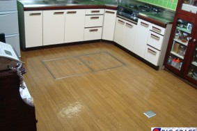 名古屋市天白区M様キッチンクリーニング DK床ワックス塗布ありがとうございました。