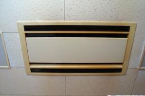 喫煙コーナーの業務用エアコン2基 分解洗浄有り難うございました!