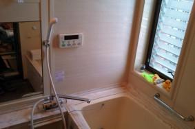 稲沢市祖父江町 H様 風呂場クリーニング有り難うございました!