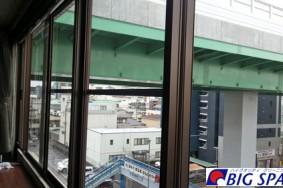 名古屋市西区 E社ビル ガラス 床ワックス有難うございました!!