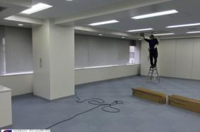 名古屋市栄 オフィスビルの復旧クリーニング !!