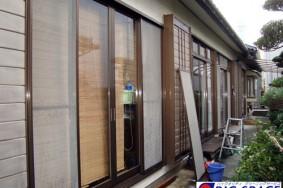 清須市 K様邸 サッシガラス クリーニング有難うございました!!