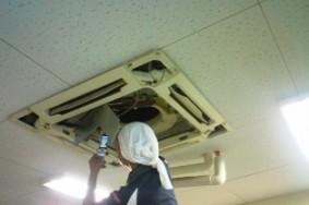 江南市 法人K社様 エアコン分解洗浄有難うございました