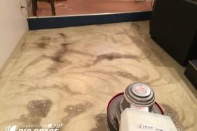 一宮市瀬部カラオケ喫茶 床洗浄ワックスでした!
