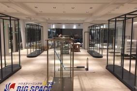 JR名古屋ゲートタワー オープンクリーニング施工中!!