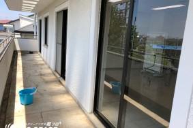 春日井市 ムラセ整形外科様 床ワックス/サッシガラス 定期清掃有難うございました!