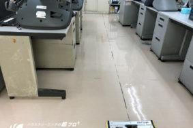 床のワックス完全剥離 有難うございました!