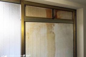 サッシガラスクリーニング有難うございました!名古屋市丸の内