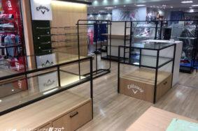 名古屋松坂屋本店4Fテナント[キャロウエイ]  オープンクリーニング有難うございました。