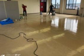 4F建ビル改修工事に伴うクリーニング。引渡し清掃有難うございました