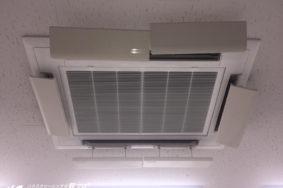 天井カセット型エアコンクリーニング有難うございました![一宮市大和ハウスリフォーム様]