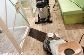 かんてい局様 [床ワックス] [メンテナンス] [店内清掃] 有難うございました。
