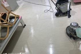 定期清掃 床洗浄ワックス 羽島市 いのうえ整形外科様 有難うございました