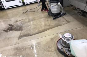 一宮市 大森石油本社様 床洗浄ワックス有難うございました!