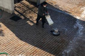 外壁 床タイル 洗浄 名古屋市T様有難うございました。