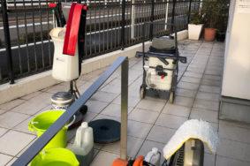 小牧市[ケンタデンタルクリニック様]定期清掃 床洗浄ワックス有難うございました!